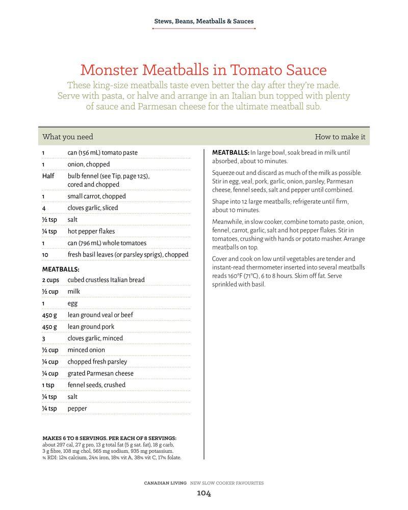 Monstermeatballsrecipe